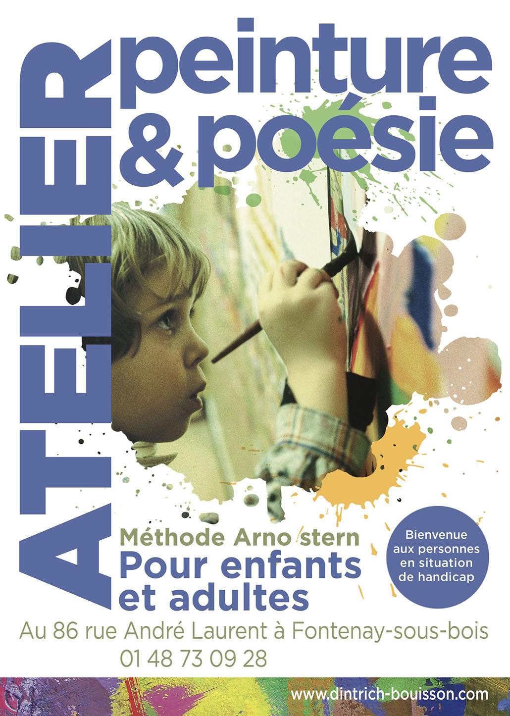 Ateliers Peinture et Poésie, animés par Valérie Dintrich Bouisson